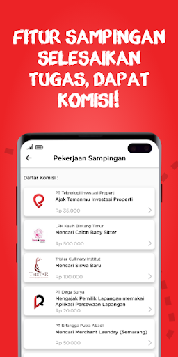 Kerjaholic – Find Workers, Jobs & Extra Income ss3
