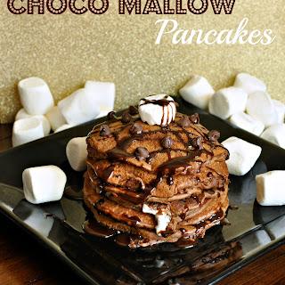 Choco-Mallow Pancakes
