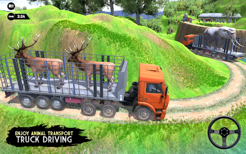 Real Animal Truck Transport Driver 1
