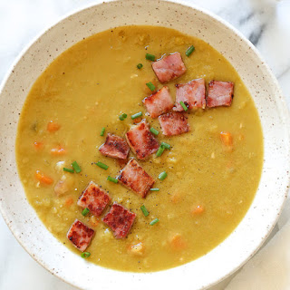 Pressure Cooker Split Pea Soup with Ham Recipe