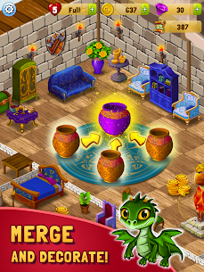 Merlin and Merge Mansion Mod Apk (Unlimited Money) 8