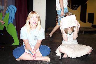 Photo: Katie, Bird Girl 1 and Kyle, Bird Girl 2