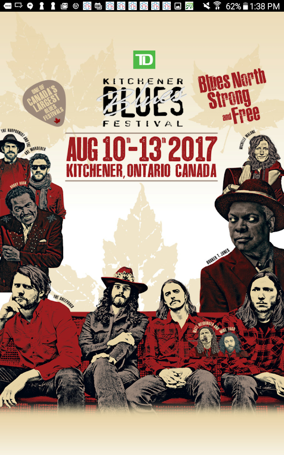 TD Kitchener Blues Festival- screenshot