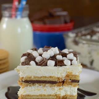 S'mores Oreo Icebox Cake.