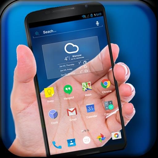Transparent Phone - Prank