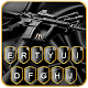 Black Machine Gun Keyboard Theme