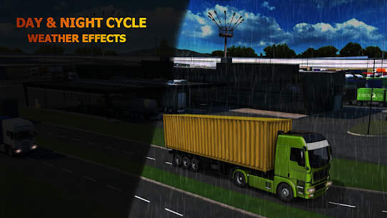 Silk Road Truck Simulator : Offroad Cargo Truck Apk Download For Android and Iphone 2