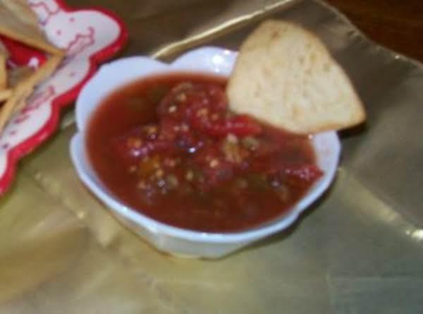 My Home-made Salsa & Home-made Pita Chips