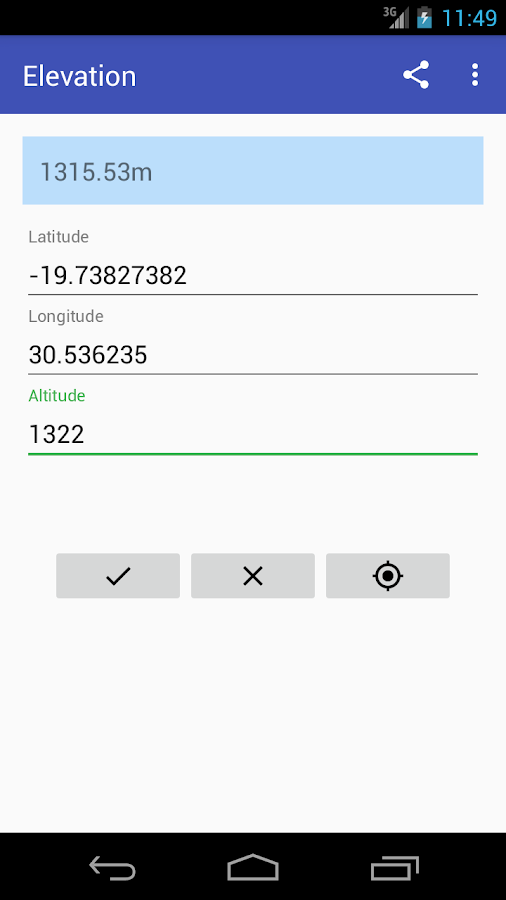 Elevation Android Apps On Google Play - Elevation from lat long coordinates