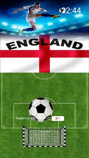 Football England Lockscreen