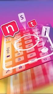 Téma klávesnice pro ins - náhled