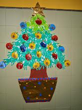 Photo: El árbol de Navidad de Infantil 3 años
