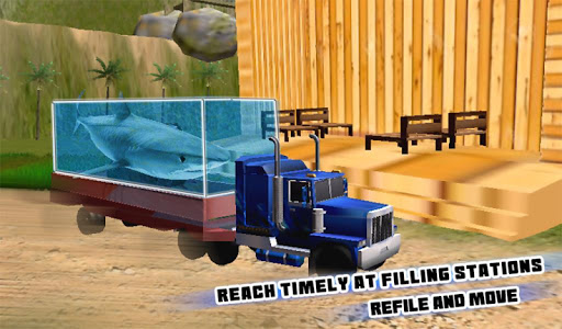 Transport Truck Shark Aquarium screenshot 14