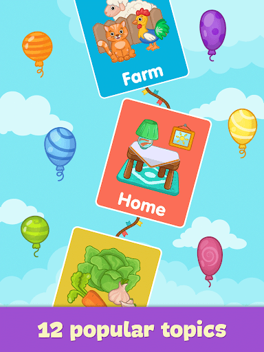 Baby flash cards for toddlers 1.7 Screenshots 9