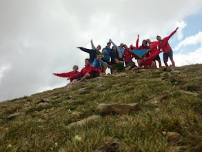 Photo: Pic Inferior de la Vaca (2.819m).  Travessa de Pioners i Caravel·les Estiu 2014.