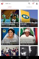 Screenshot of Amebo - News (Nigeria)
