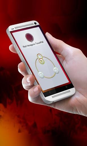 红色六边形 TouchPal