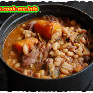 Beans with Knuckle of Pork Recipe