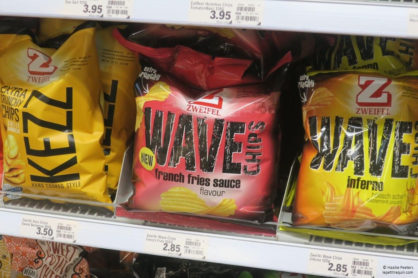 Zweifel chips (Le petit requin)