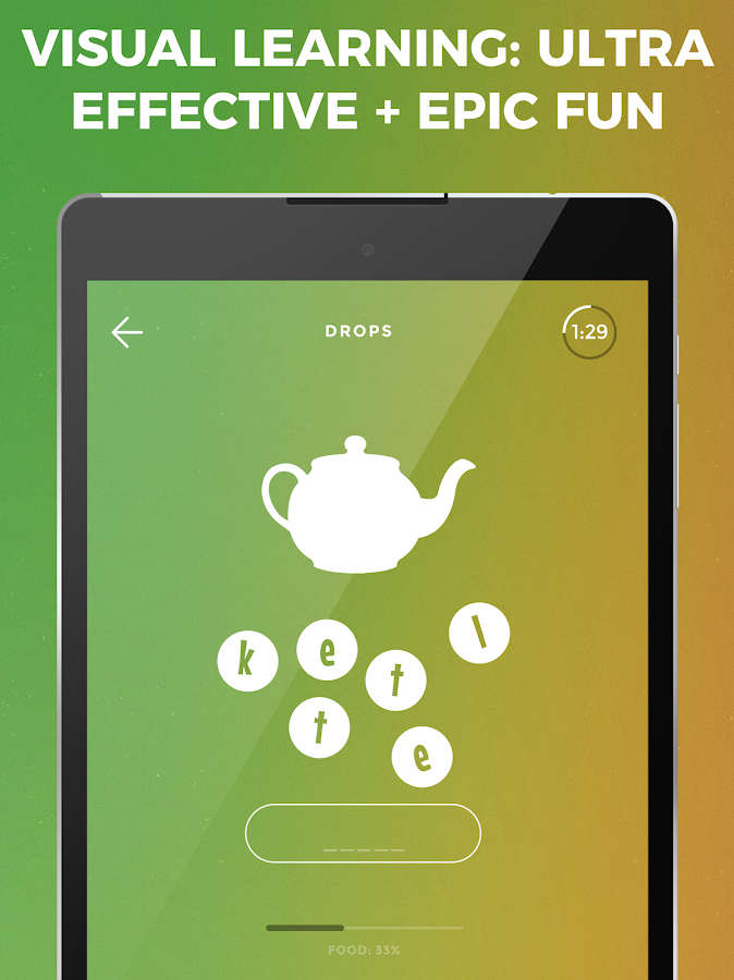 Drops: Learn Korean, Japanese, Chinese language- screenshot