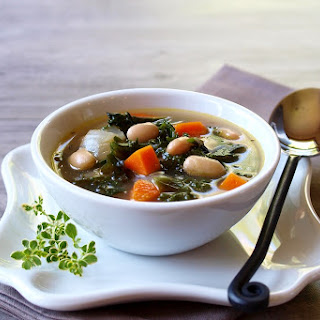 Redbor Kale and Great Northern Bean Soup