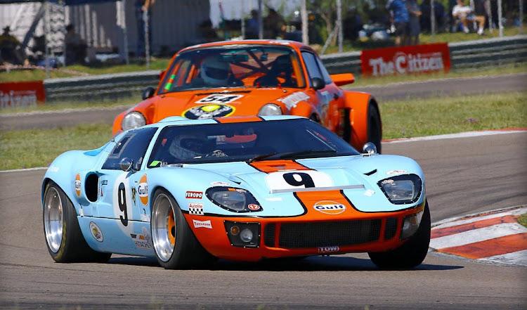 Action at Zwartkops Raceway in Pretoria.