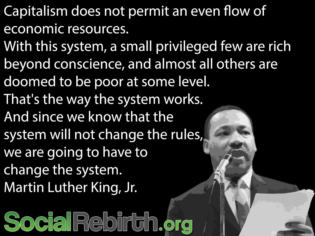 Photo: We can change the system and we must. http://socialrebirth.org/money-to-resource-based-economics-step-by-step/