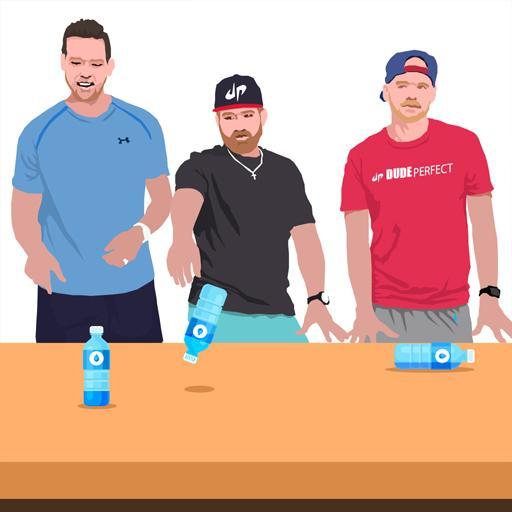 4 in 1 Water Bottle Flip 2k16
