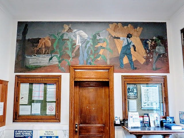 Eutaw, Alabama post office mural
