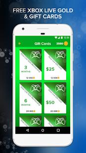 Free Xbox Live Gold & Gift Cards APK APK Captura de ...