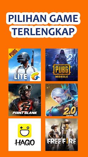 Coda shop 2020 - Topup Voucher Game Via Pulsa 2.0 screenshots 1