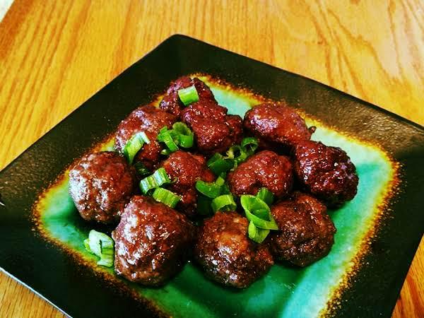 Raspberry And Balsamic Glazed Meatballs