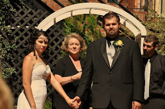Photo: Wedding Ceremony Officiant Minister - Larkins on the River - Greenville, SC - http://WeddingWoman.net