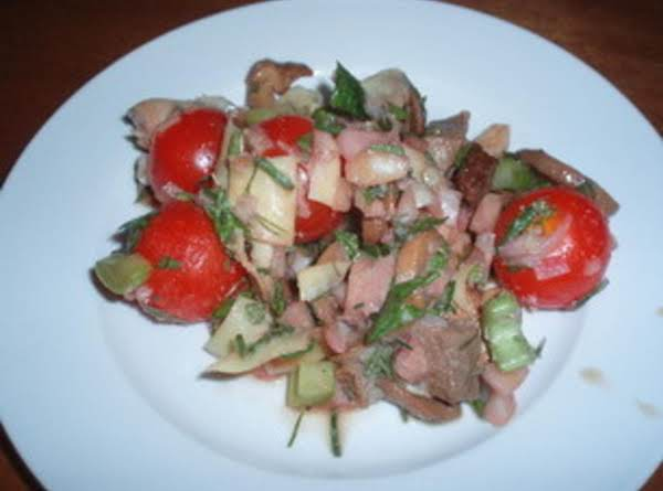 Cold Steak Salad