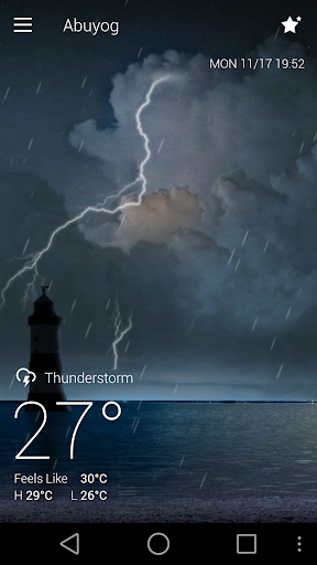 Classic GO Weather Background screenshot 7