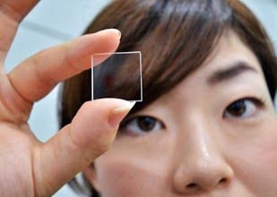Photo: The company on Monday unveiled a method of storing digital information on slivers of quartz glass that can endure extreme temperatures and hostile conditions without degrading, almost forever.   Hitachi's new technology stores data in binary form by creating dots inside a thin sheet of quartz glass, which can be read with an ordinary optical microscope. Provided a computer with the know-how to understand that binary is available—simple enough to programme, no matter how advanced computers become—the data will always be readable.
