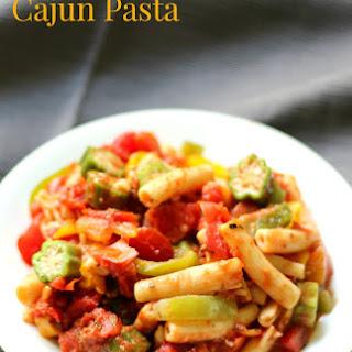 One-Pot Cajun Pasta (Gluten-Free, Vegan).
