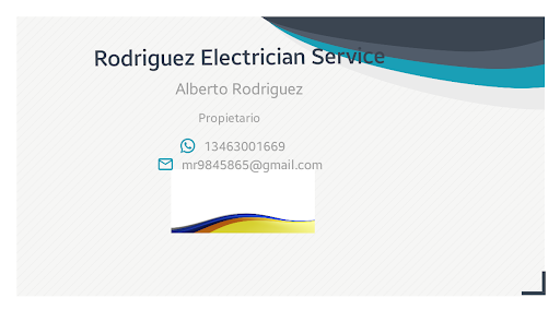 BusinessCard of Alberto Rodriguez