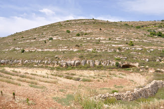 Photo: This slope of the valley was covered by 25000 grapetrees till 1936. Then, in the period of the Arabic uprising in 1936 (in the time of the British mandate) they were destroyed. Till now it is unknown who did it.