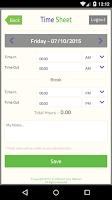Screenshot of TrackSmart Attendance