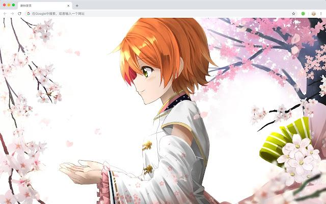 Rin Hoshizora New Tab, Wallpapers HD