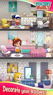 Pocket Family Dreams: Build My Virtual Home Mod 1.1.3.1 Apk [Unlimited Money] 2
