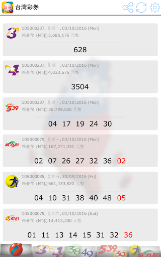 Fast Taiwan Lottery Results screenshot 17