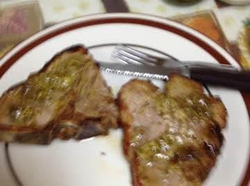 broiled ginger lamb chops