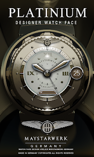 How to install Platinium Watch Face 2.1.0.6 mod apk for pc