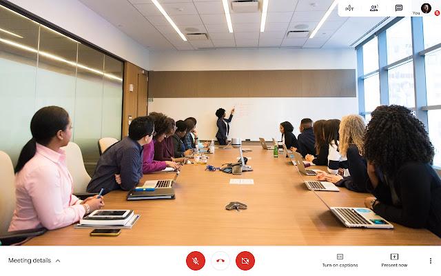 Google Meet Push to Talk
