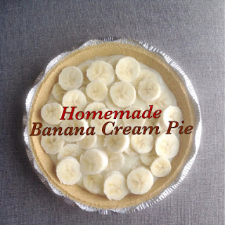 Banana Cream Pie from Scratch