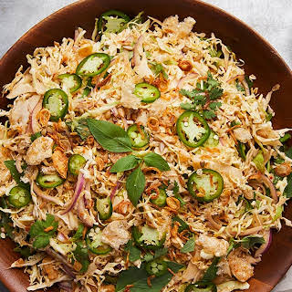 Spicy Cabbage Salad.