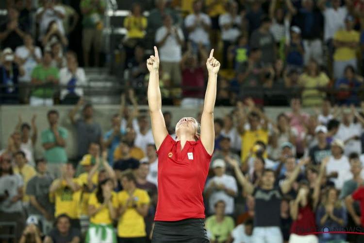 """Kirsten Flipkens kan haar gevoel nauwelijks beschrijven: """"Een van de meest memorabele wedstrijden die ik ooit speelde"""""""