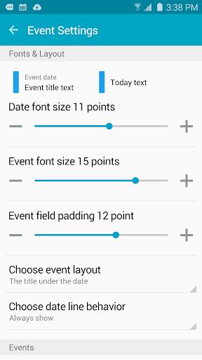 Clean Calendar Widget Pro 이미지[5]